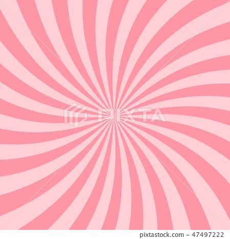 Retro Pink Starburst Background.  47497222