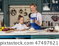 cooking, cookie, mother 47497621