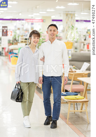 家庭中心夫婦購物 47498274