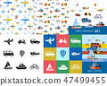 transport, transportation, icons 47499455