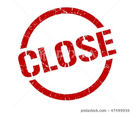 close stamp 47499936