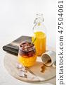 Orange juice espresso with ice 47504061