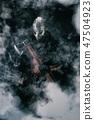 smoke, man, fur 47504923