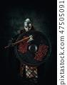 viking, ax, shield 47505091