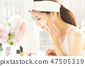 女性美容化妝 47505319
