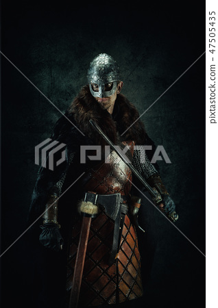 sword, man, leather 47505435