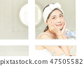 女性美容化妝 47505582