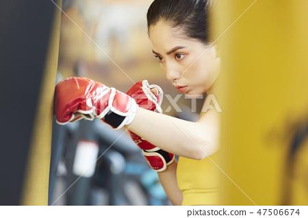 女性健身健身房運動服 47506674