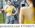 女性健身健身房运动服 47506675