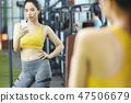 女性健身健身房运动服 47506679