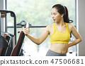 女性健身健身房运动服 47506681