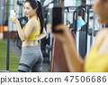 女性健身健身房运动服 47506686