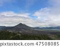 킨타마니 고원 화산과 호수 발리 인도네시아 47508085