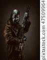 Gas, mask, warrior 47509964