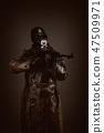 Gas, mask, warrior 47509971