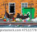 city, litter, garbage 47522778