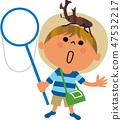 一個男孩和甲蟲 47532217
