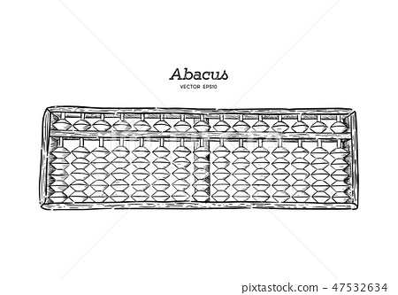 Vector illustration wooden abacus. 47532634
