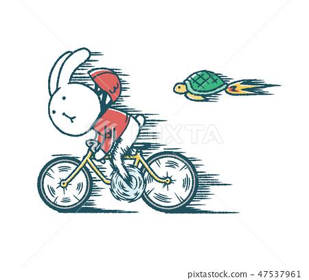 느슨한 토끼와 거북이의 경륜 47537961