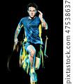 Runner, Man, Sprinter 47538637