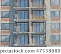 Building construction site 47538689