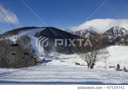 鹿島滑雪場的丸山坡(練習) 47539741