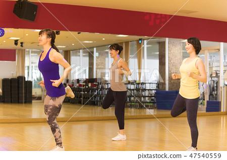 Aerobics, aerobics, gymnastics, dance, sports gym, fitness gym, 47540559