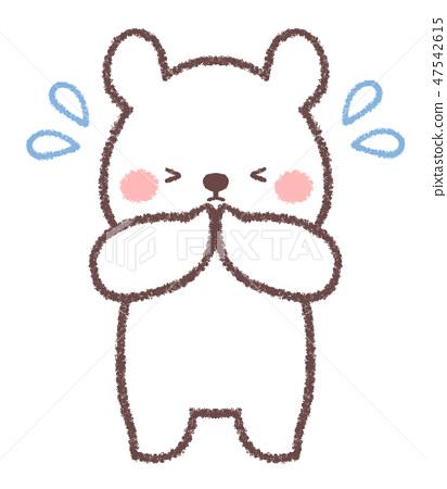 北極熊我很抱歉。 47542615