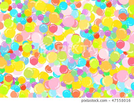 Balloon colorful texture - Stock Illustration [47558016] - PIXTA