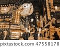 Tsutenkaku Market Street in Osaka 47558178