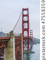 Golden gate,San francisco,California,usa. 47558359