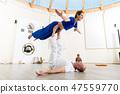 yoga, man, woman 47559770