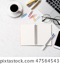 Designer desk model sample template フリーランス mockup freelance design 47564543