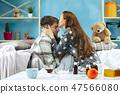 woman, sick, couple 47566080