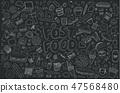 Fast food elements. 47568480