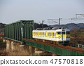 Echigo line 115 series near the end (Yahiko Line color) 47570818