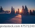 winter mountains landscape 47572240