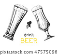 beer, glass, lager 47575096