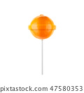 Lollipop orange 47580353