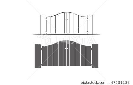 Gate Way Template Set 47581188