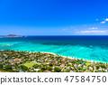 """Hawaii"" Lanikai view box Kailua 47584750"