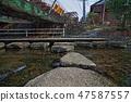 新幹線的水線為Niji Territory,風景在冬天 47587557