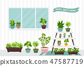 House indoor vector plants  47587719