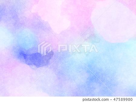 水彩藝術背景 47589980