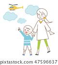 母親和兒子 47596637