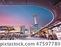 Kyoto, Japan Cityscape 47597780