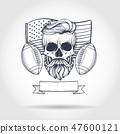 football, skeleton, rugby 47600121
