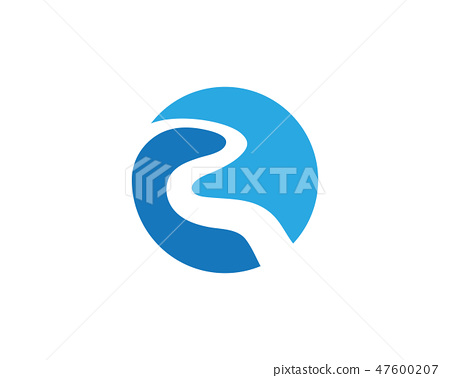 river vector icon illustration stock illustration 47600207 pixta pixta