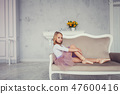 dancer, child, chair 47600416