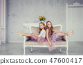 ballerina, girl, child 47600417